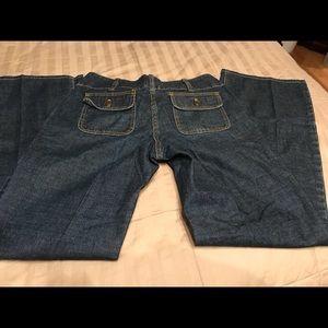Michael Kors Straight Leg Sz 4 Dark Wash Jeans